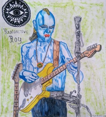 Radioactive Roy from the Radio Active Bones